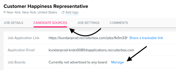 New Process for Sponsored Indeed Postings Via Recruiterbox